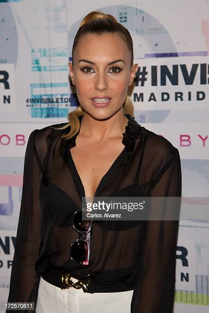 Berta Collado attends the 'Marc By Marc Jacobs' eyewear collection launching at the Joy Eslava Club on July 3 2013 in Madrid Spain