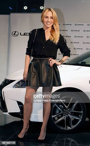 Berta Collado attends the presentation of Lexus CT 200h Hibrid on April 1 2014 in Madrid Spain