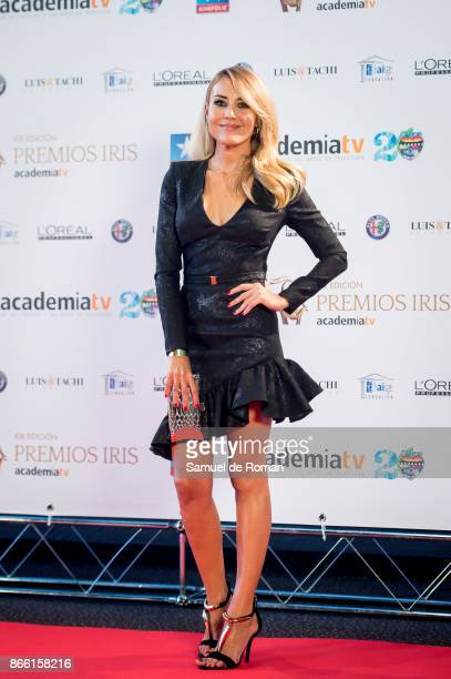 Berta Collado during Iris Awards 2017 on October 24 2017 in Madrid Spain