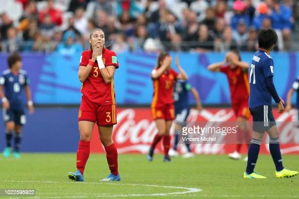 Berta Pujadas of Spain during the Women's World Cup Final match between Spain U20 and Japan U20 on August 24 2018 in Vannes France
