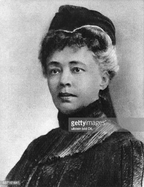 Bertha von Suttner 18431914 Schiftstellerin D um 1890