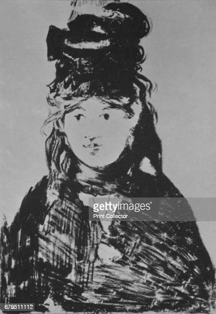 Berthe Morisot' c 1870s Portrait of the French Impressionist painter Berthe Morisot She was married to Eugene Manet the brother of her friend and...