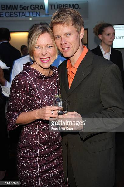 Berthold Manns and Marion Kracht at the Premiere Of Germany BMW 5 Series Gran Turismo in Berlin