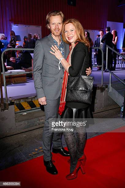 Berthold Manns and Marion Kracht attend the Spirit of Istanbul by Yeni Raki on March 14, 2015 in Berlin, Germany.