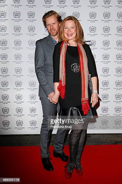 Berthold Manns and Marion Kracht attend the Spirit of Istanbul by Yeni Raki on March 14 2015 in Berlin Germany