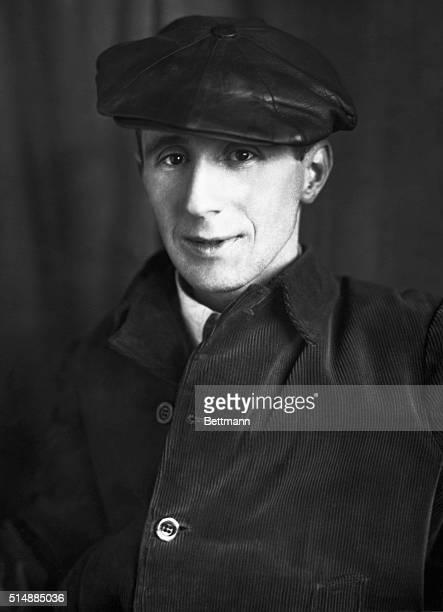 Bertholt Brecht German dramatist and poet Head and shoulder photograph BPA2# 4988