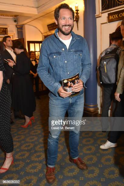 Bertie Carvel arrives at the press night performance of 'Consent' at the Harold Pinter Theatre on May 29 2018 in London England