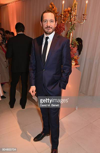 Bertie Carvel attend the opening night reception of the English National Ballet's Le Corsaire hosted by St Martins Lane on January 13 2016 in London...