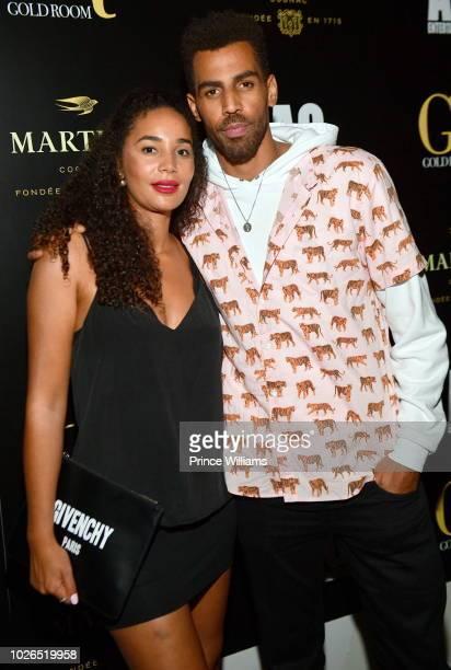 Bertille Sefolosha and Thabo Sefolosha at Gold Room on September 3 2018 in Atlanta Georgia