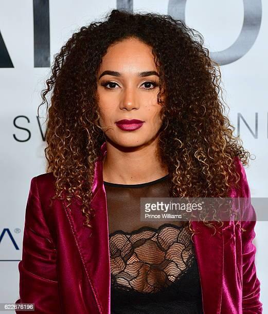 Bertille Sefolosha attends ATTOM Atlanta Store Private opening on November 11 2016 in Atlanta Georgia