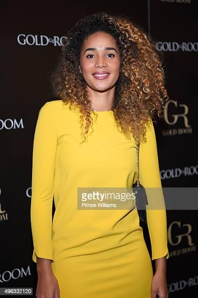 Bertille Sefolosha attends Kenny Burns Official Birthday Part at Gold Room on November 5 2015 in Atlanta Georgia