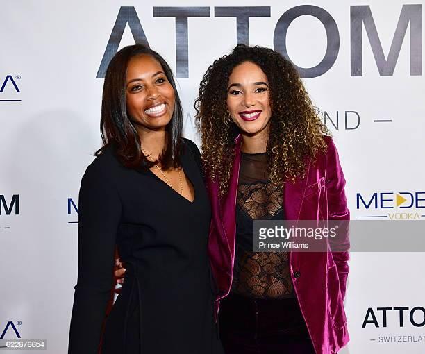 Bertille Sefolosha attends the ATTOM Atlanta store Private Opening on November 11 2016 in Atlanta Georgia