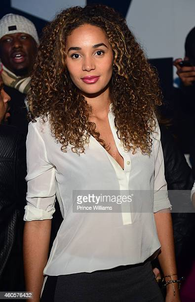 Bertille Sefolosha attends the Gold Room on December 8 2014 in Atlanta Georgia