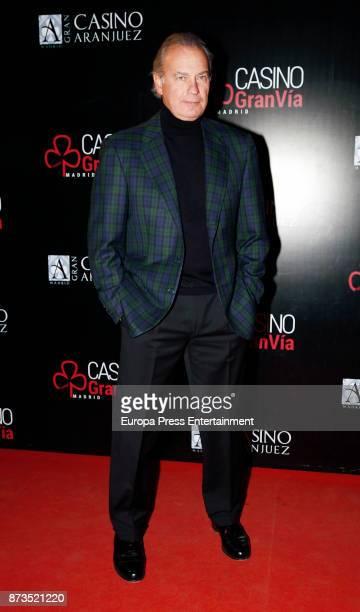 Bertin Osborne attends Antena de Oro Awards 2017 at Casino de Aranjuez on November 11 2017 in Madrid Spain