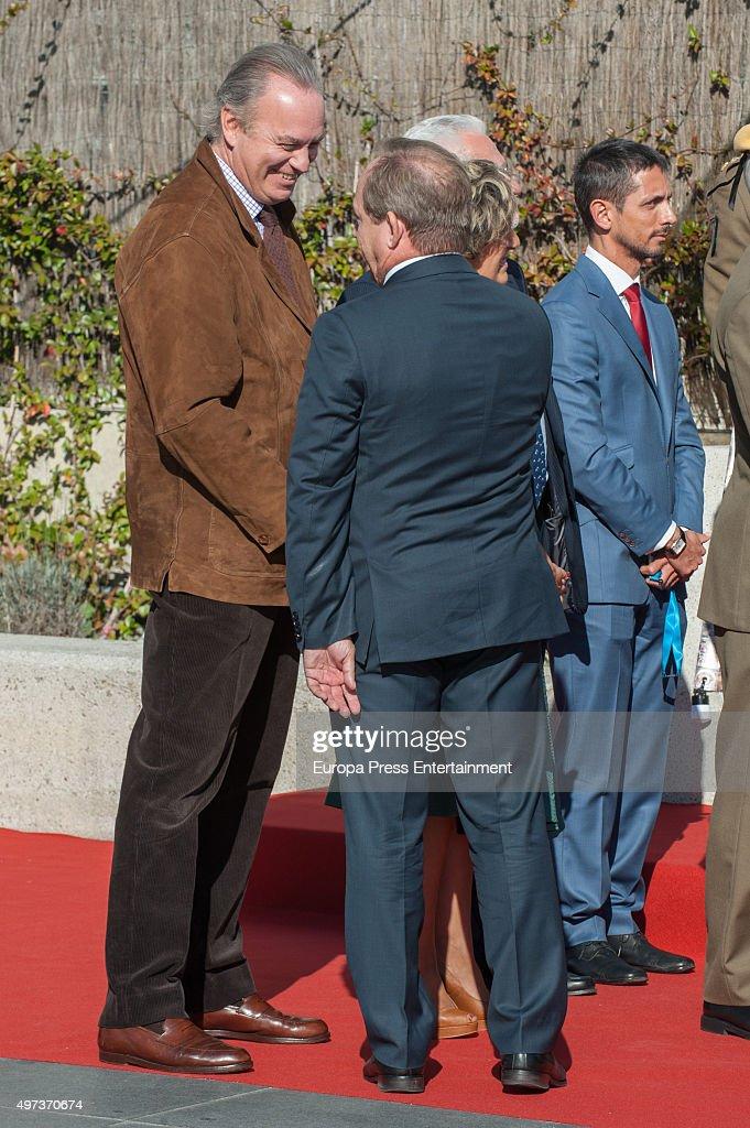 Bertin Osborne (L) attends 'La Paz' Hospital 50th Anniversary' on November 16, 2015 in Madrid, Spain.