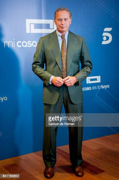 Bertin Osborne during 'Mi Casa Es La Tuya' Presentation in Madrid on August 31 2017 in Madrid Spain