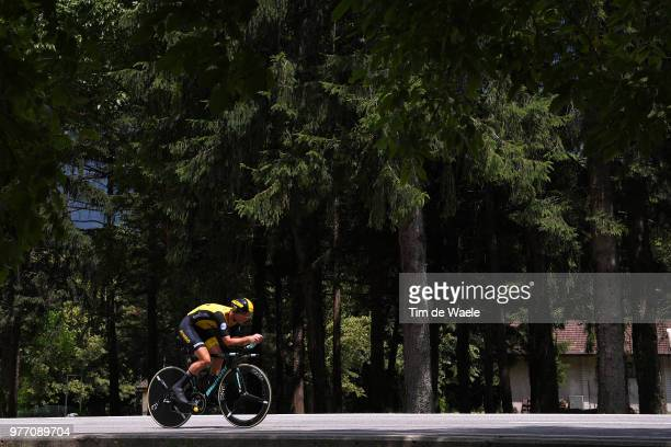 Bert-Jan Lindeman of The Netherlands and Team LottoNL - Jumbo / during the 82nd Tour of Switzerland 2018, Stage 9 a 34,1km individual time trial...