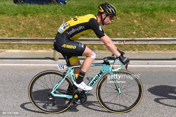 Bert-Jan Lindeman of The Netherlands and Team LottoNL-Jumbo / during the 58th Vuelta Pais Vasco 2018, Stage 2 a 166,7 stage from Zarautz to Bermeo on...