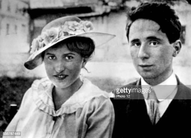 Bertold Brecht and his girlfriend Bie Germany Paris Bibliothèque nationale