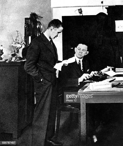 Bertold Brecht and Samson Körner 20th century Germany Paris Bibliothèque nationale
