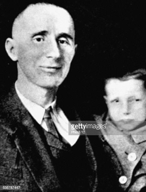 Bertold Brecht with his son Stefan Germany Paris Bibliothèque nationale