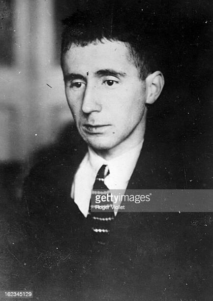 Bertolt Brecht German dramatist circa 1930