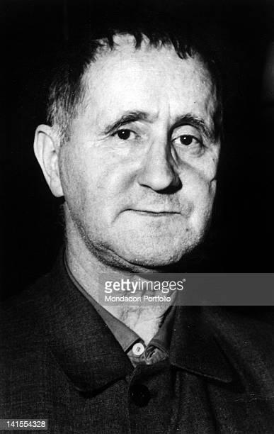 Bertolt Brecht German dramatist poet and theatre director