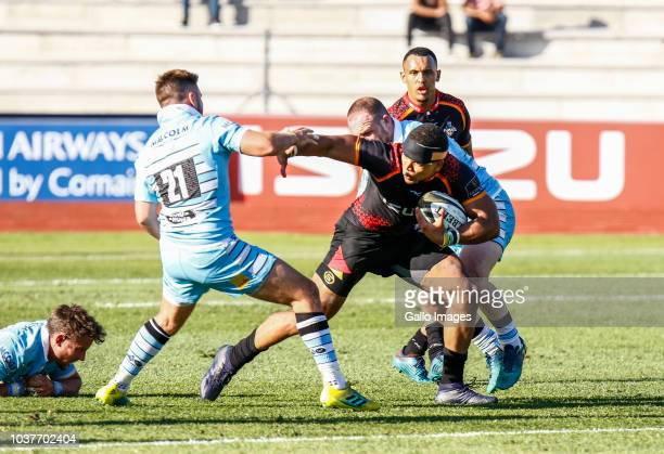 Berton Klaasen of the Southern Kings during the Guinness Pro14 match between Isuzu Southern Kings and Glasgow Warriors at Nelson Mandela Bay...