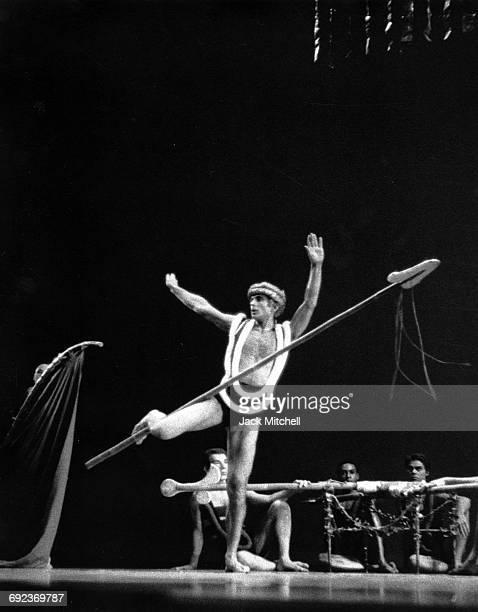 Bertram Ross as Agamemnon in Martha Graham's 'Clytemnestra' 1967