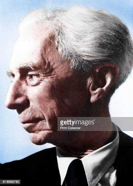 Bertrand Arthur William Russell 3rd Earl Russell British philosopher and mathematician Nobel prize for literature 1950 PHOTOGRAPH COURTESY OF THE...