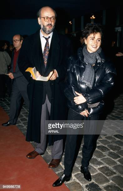 Bertrand Blier and Anouk Grinberg
