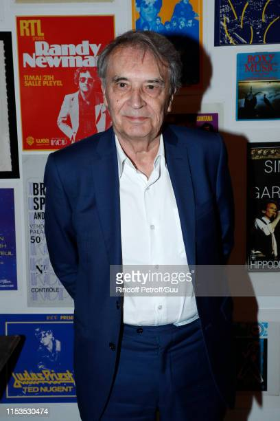 Bertrand de Labbey attends Albert Koski exposes its RockRoll Posters Collection at Galerie Laurent Godin on June 03 2019 in Paris France