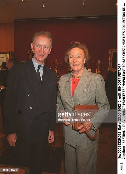 "Bertrand Du Vignaud princess ""Napoleon"" party at Christie's collection of the ""Marquis de Bath"" Avenue Matignon Paris."