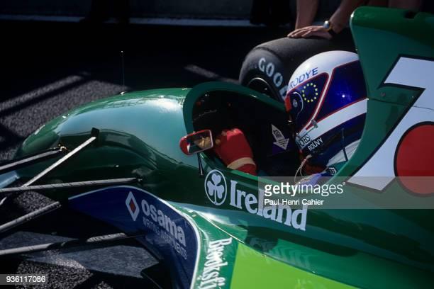 Bertrand Gachot JordanFord 191 Grand Prix of France Circuit de Nevers MagnyCours 07 July 1991