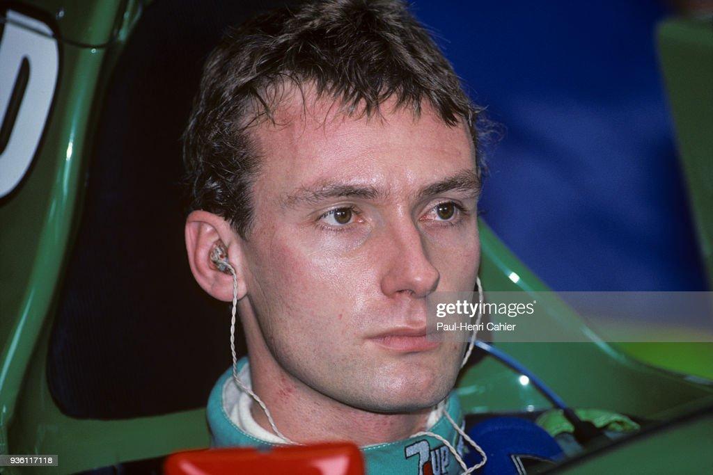 Bertrand Gachot, Grand Prix Of Great Britain : News Photo