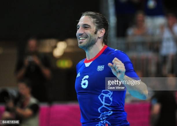 Bertrand GILLE - - France / Croatie - 1/2 finale - Jeux Olympiques Londres 2012, Photo: Dave Winter / Icon Sport
