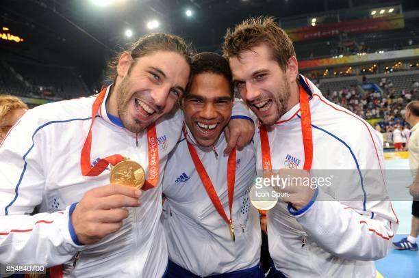 Bertrand GILLE / Daniel NARCISSE / Guillaume GILLE France / Islande Finale Jeux Olympiques Pekin 2008