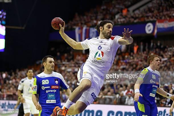 Bertrand GILLE Handball Männer Europameisterschaft 2012 in Serbien Hauptrunde : Frankreich - Slowenien 10 th mens european championchip in Serbia...