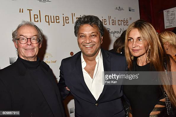 Bertrand Maingard Mehmood Bhatti And Georgia Verite Attend The News Photo Getty Images