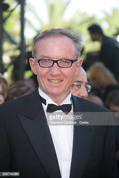 Bertrand Meheut arrives at the premiere of Zodiac during the 60th Cannes Film Festival