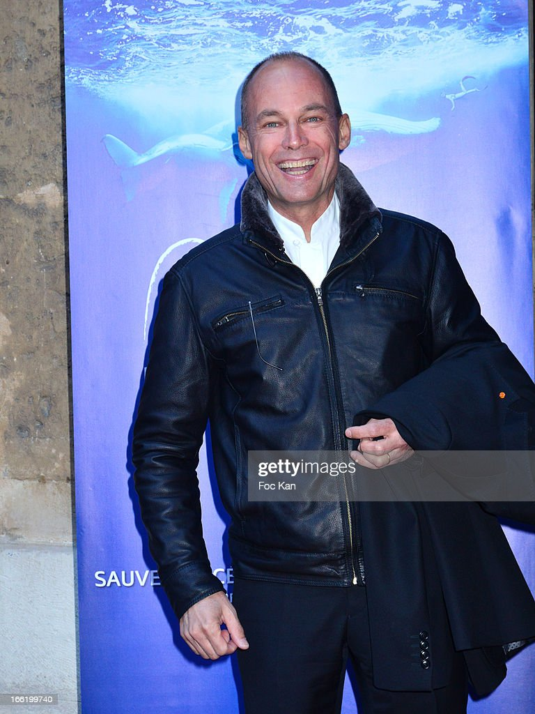 Bertrand Picard attends the Maud Fontenoy Foundation - Annual Gala Arrivals at Hotel de la Marine on April 9, 2013 in Paris, France.