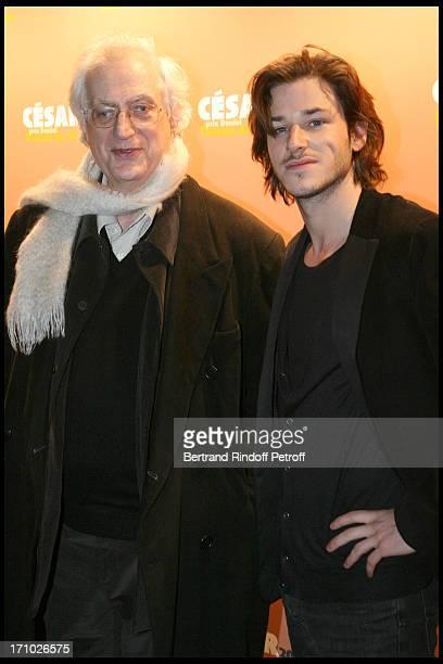 Bertrand Tavernier , Gaspard Ulliel at The Daniel Toscan Du Plantier Awards Ceremony At The Four Seasons Hotel George V In Paris.