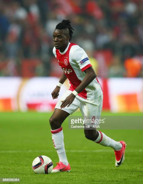 Bertrand Traore of Ajax during the UEFA Europa League Final match between Ajax and Manchester United at Friends Arena on May 24 2017 in Stockholm...