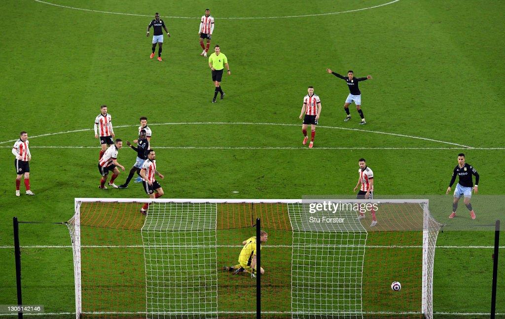 Sheffield United v Aston Villa - Premier League : ニュース写真