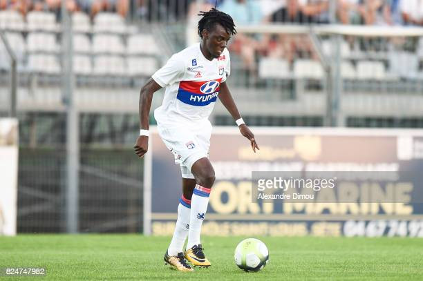 Bertrand Traore of Lyon during the Friendly match between Montpellier Herault and Olympique Lyonnais on July 30, 2017 in Montpellier, France.