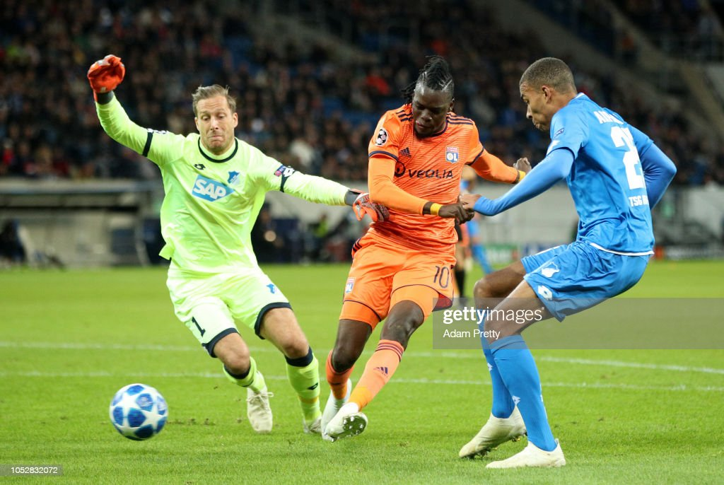 TSG 1899 Hoffenheim v Olympique Lyonnais - UEFA Champions League Group F : News Photo