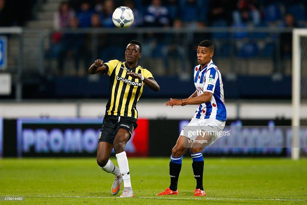 "Europa League Play-offs - ""SC Heerenveen v Vitesse Arnhem"" : News Photo"