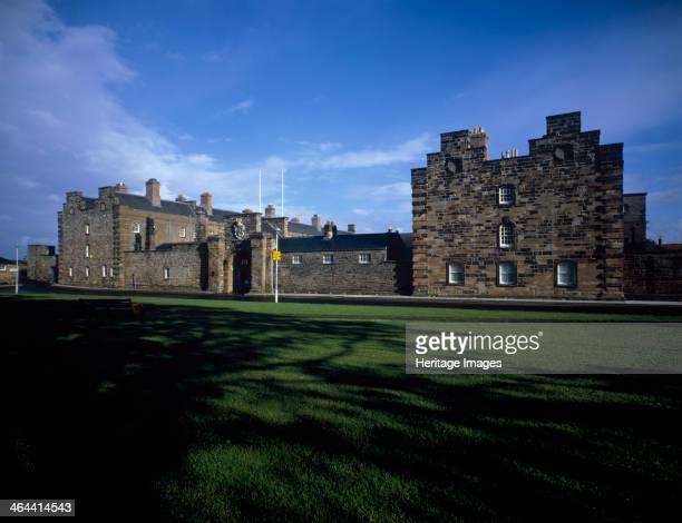 Berwick Barracks BerwickuponTweed Northumberland 1985 The Barracks were begun in 1717 and based on a design by Nicholas Hawksmoor