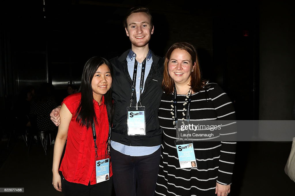 Beryl Lin, John Magovern and Lauren Kleiman attend Shorts Filmmakers Party - 2016 Tribeca Film Festival at Eventi Hotel on April 17, 2016 in New York City.