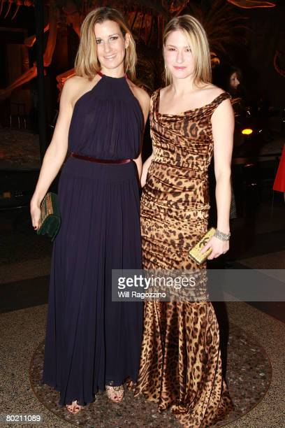 Beryl Silver and Julie Macklowe in attend The American Museum of Natural History's Annual Winter Dance on March 11 2008 in New York City
